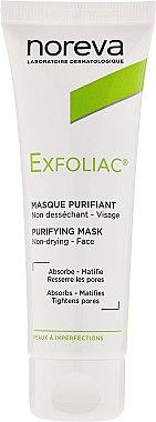 Gesichtsreinigungsmaske - Noreva Laboratoires Exfoliac Deep Cleansing Mask — Bild N2