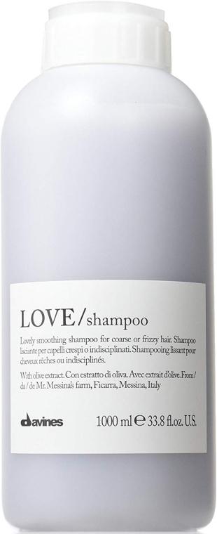 Shampoo für geschmeidige Locken und Wellen - Davines Shampoo Lisciante Addolcente — Bild N1