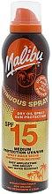 Düfte, Parfümerie und Kosmetik Sonnenschutzöl mit SPF 15 - Malibu Continuous Dry Oil Spray SPF 15