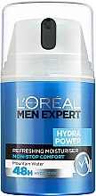 Düfte, Parfümerie und Kosmetik Erfrischendes Gesichtsgel für Männer - L'Oreal Paris Men Expert Hydra Power