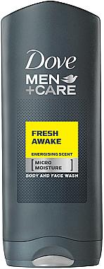 Pflegedusche für Körper und Gesicht - Dove Fresh Awake Shower Gel — Bild N1