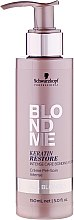 Intensivpflege für blondes Haar mit Keratin - Schwarzkopf Professional BlondMe Keratin Restore Intense Care Bonding Potion — Bild N1
