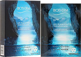 Düfte, Parfümerie und Kosmetik Regenerierende Gesichtsmaske - Biotherm Life Plankton Essence-In-Mask Fundamental Treatment Mask