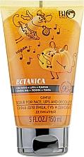 Düfte, Parfümerie und Kosmetik Peeling für Gesicht, Lippen und Dekolleté mit Chiasamen, Luffa und Kürbis - Bio World Botanica Scrub