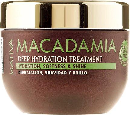 Intensiv feuchtigkeitsspendende Maske für normales und strapaziertes Haar - Kativa Macadamia Deep Hydrating Treatment — Bild N3