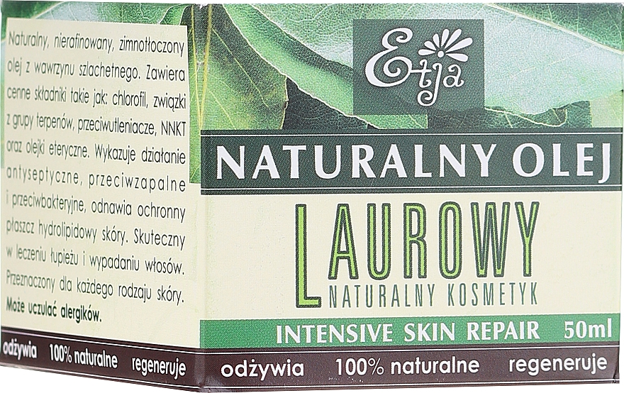 Natürliches Lorbeeröl - Etja Natural Oil — Bild N1