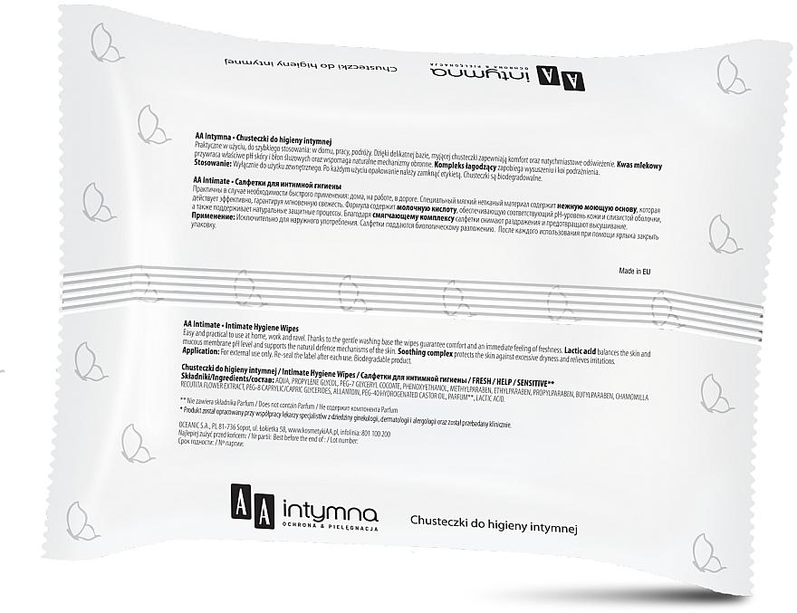 Intim-Pflegetücher Fresh - AA Intymna Fresh Wipes — Bild N2