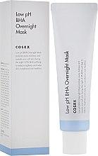 Düfte, Parfümerie und Kosmetik Geischtsmaske mit 0.9% BHA-Säuren - Cosrx Low pH BHA Overnight Mask