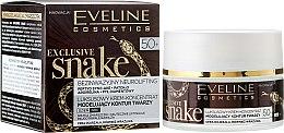 Düfte, Parfümerie und Kosmetik Luxuriöses modellierendes Creme-Konzentrat für das Gesicht - Eveline Cosmetics Exclusive Snake 50+