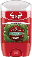 Düfte, Parfümerie und Kosmetik Deostick Antitranspirant - Old Spice Citron Deodorant Stick