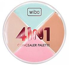 Düfte, Parfümerie und Kosmetik Concealer Quartett - Wibo 4in1 Concealer Palette