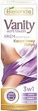 Düfte, Parfümerie und Kosmetik 3in1 Enthaarungscreme für Körper, Gesicht und Bikinizone mit Kaschmir-Touch - Bielenda Vanity Soft Touch Depilatory Cream for Sensitive Skin