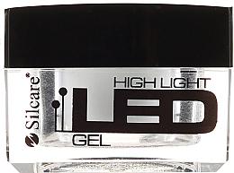 Düfte, Parfümerie und Kosmetik Nagelgel weiß - Silcare High Light LED White
