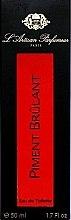 L'Artisan Parfumeur Piment Brulant - Eau de Toilette  — Bild N3