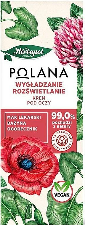 Glättende und Aufhellende Augencreme - Polana