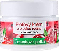 Düfte, Parfümerie und Kosmetik Gesichtscreme mit Granatapfel für die ganze Familie - Bione Cosmetics Pomegranate Facial Cream For The Whole Family With Antiox