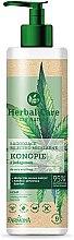 Düfte, Parfümerie und Kosmetik Mizellenmilch für das Gesicht mit Hanf und Kollagen - Farmona Herbal Care