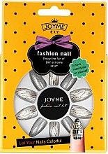 Düfte, Parfümerie und Kosmetik Künstliche Fingernägel inkl. Kleber 3011 - Donegal Joyme Fashion Nail