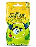 Düfte, Parfümerie und Kosmetik Aufhellende 3D-Tuchmaske - Bielenda Monster 3D Brightening Face Mask