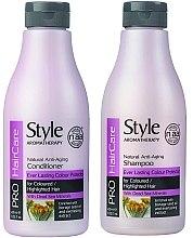 Düfte, Parfümerie und Kosmetik Haarpflegeset - Style Aromatherapy Pro HairCare (Shampoo 400ml + Conditioner 400ml)
