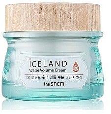 Feuchtigkeitscreme für fettige Haut - The Saem Iceland Hydrating Water Volume Cream — Bild N1