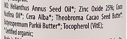 Wasserfeste Bio-Sonnenschutzlotion für Gesicht und Körper SPF 50 - Wooden Spoon Organic Sunscreen Lotion Baby & Family SPF 50 — Bild N3