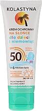 Düfte, Parfümerie und Kosmetik Wasserfeste Sonnenschutzcreme für Kinder SPF 50 - Kolastyna