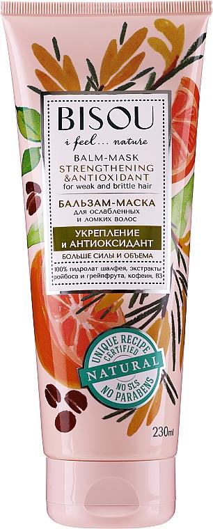 Stärkende und antioxidative Haarspülung-Maske - Bisou Balm-Mask Strengthening & Antioxidant — Bild N1