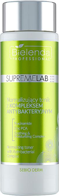 Normalisierendes Gesichtstonikum mit antibakteriellem Komplex - Bielenda Professional Supremelab Sebio Derm Face — Bild N2