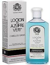 Düfte, Parfümerie und Kosmetik Lotion gegen Haarausfall für graues Haar - Intea Azufre Veri Balance Lotion for Grey Hair