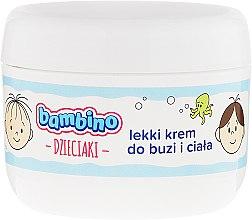 Düfte, Parfümerie und Kosmetik Leichte Kindercreme für Gesicht und Körper - Nivea Bambino Kids