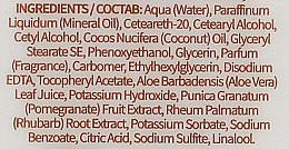 Hand- und Körperlotion mit Aloe Vera und Vitamin E - Grace Cole Fruit Works Hand & Body Lotion Rhubarb & Pomegranate — Bild N3