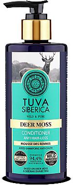 Conditioner gegen Haarausfall mit Klettenextrakt - Natura Siberica Tuva Siberica Deer Moss Active Hair Growth Conditioner — Bild N1