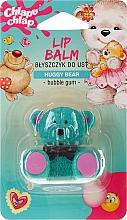 Düfte, Parfümerie und Kosmetik Pflegender Lippenbalsam für Kinder mit Kaugummiduft und Bienenwachs Bärchen - Chlapu Chlap Lip Balm