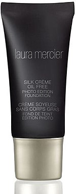 Cremige ölfreie Foundation - Laura Mercier Silk Crème Oil Free Photo Edition Foundation — Bild N1
