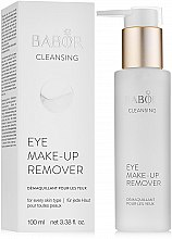 Düfte, Parfümerie und Kosmetik Babor Cleansing Eye Make up Remover - Augen Make-up Entferner