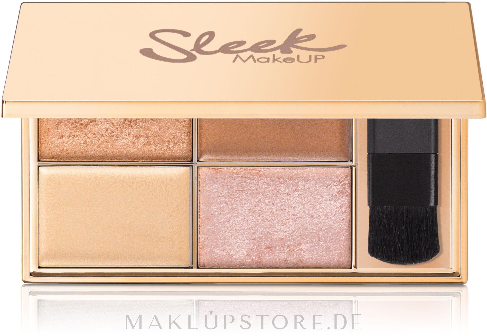 Highlighter-Palette - Sleek MakeUP Highlighting Palette — Bild Cleopatra Kiss