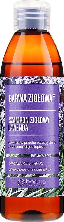 Anti-Schuppen Shampoo für fettiges Haar mit Lavendel - Barwa Herbal Lavender Shampoo