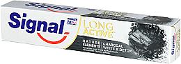 Düfte, Parfümerie und Kosmetik Zahnpasta mit Aktivkohle Long Active - Signal Long Active Nature Elements Charcoal