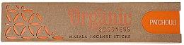 Düfte, Parfümerie und Kosmetik Duftstäbchen Patschuli - Song Of India Organic Goodness Patchouli