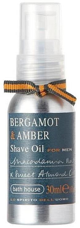 Bath House Bergamot & Amber - Rasieröl Bergamotte & Bernstein — Bild N1