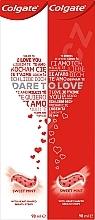 Düfte, Parfümerie und Kosmetik Zahnpflegeset - Colgate Dare To Love (Zahnpasta 2x98ml)