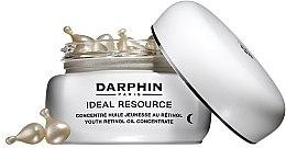 Düfte, Parfümerie und Kosmetik Anti-Falten Retinolkapseln für Gesicht und Augenpartie mit Jojobaöl und Cranberryextrakt - Darphin Ideal Resource Youth Retinol Oil Concentrate