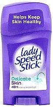 Düfte, Parfümerie und Kosmetik Deostick Antitranspirant - Lady Speed Stick Delicate Skin