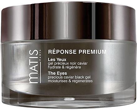 Feuchtigkeitsspendende und glättende Augenkonturcreme mit Auszügen aus schwarzem Kaviar - Matis Reponse Premium The Eyes — Bild N1