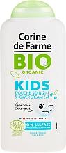 Düfte, Parfümerie und Kosmetik 2in1 Bio Duschcreme und Shampoo für Kinder - Corine de Farme Bio Organic Shower Gel