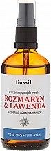 Düfte, Parfümerie und Kosmetik Regenerierendes Haaröl mit Rosmarin und Lavendel - Iossi