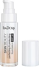 Schützende Foundation LSF 35 - Skin Beauty Perfecting & Protecting Foundation SPF 35 (01 - Fair) — Bild N1