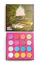 Düfte, Parfümerie und Kosmetik Lidschattenpalette mit 16 Farben - Makeup Obsession X Rady Eyeshadow Palette