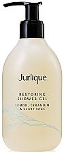 Düfte, Parfümerie und Kosmetik Revitalisierendes Duschgel mit Zitronenextrakt - Jurlique Restoring Shower Gel Lemon, Geranium And Clary Sage